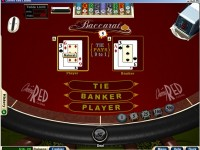 Baccarat at Cherry Red Casino