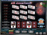 10 Hand All American Video Poker