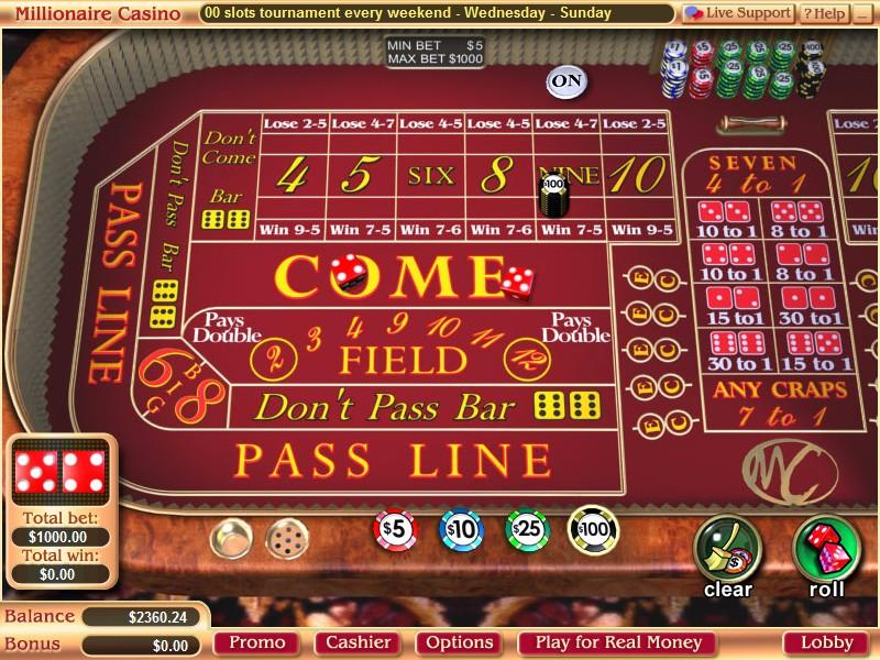 Millionaire casino bonus codes red rock casino slash