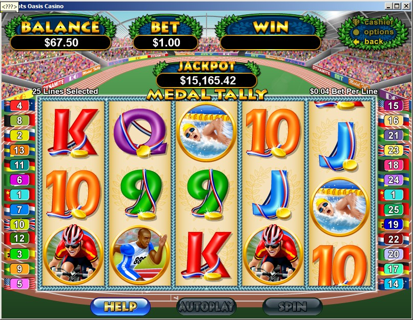 Slot oasis online casino