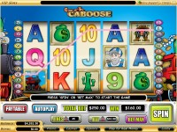 Cash Caboose Video Slot